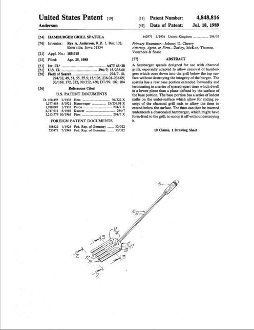 Spatula Patent